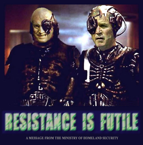 Cheney and halliburton images - We are the borg quote ...