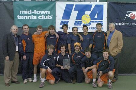 UVA Tennis Team Photos --- circa 2001 to 2005